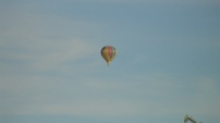 Hot-air balloon over Xhoffraix